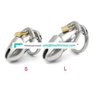 316L Stainless Steel Penis Lock Ring Chastity Cock Cage