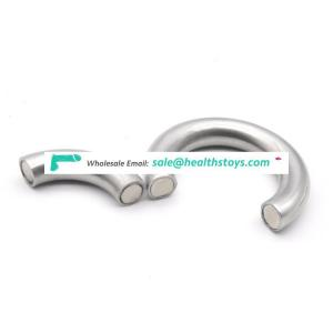 3Size Available Stainless Steel Magnetic Cock Ring Delay Ejaculation Penis Ring