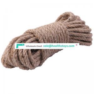5 Meters 8mm diameter 100% hemp sex bondage rope natural hemp rope