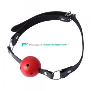 Adult Sex Products Submissive Toy Silicone Bondage Muffled Restraint SM play Ball Gag Mouth Gag