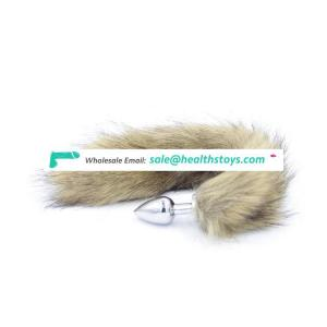 Adult Sex Toys Fox Tail Anal Plug for Women