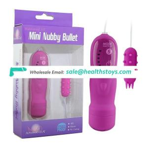 Adult Toys Silicone Nubby Bullet Sex Tools for Female