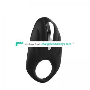 Adult sex toys vibrating ring male time delay lock fine ring