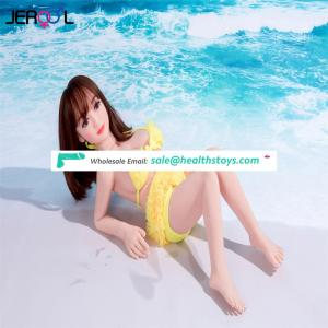 Chinese factory custom cheap mini loli young real big breasts 100cm men tpe sex doll