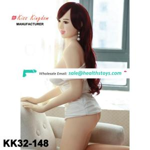 Chinese manufacturing factory price hot sale 148cm Big ass silicone sex doll for men masturbation