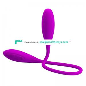 Double ended  strong vibration anal bullet pussy vibrator for women orgasm toys,double head massager
