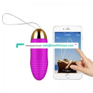 Electric Sex Toys For Women Usb Wireless APP Controlled Vibrating Silicone Sex Toy Love Egg