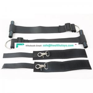 Factory wholesale High Quality body restraint on door for sex adult games.