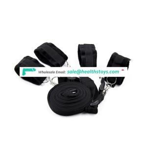 Fits Almost Any Size Mattress Bed Restraint System Ankle and Wrist Sex Bondage Cuffs