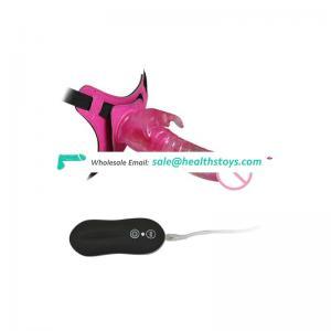 Free Dildos and Vibrators Remote Control Rabbit Vibrator Wearable Sex Toy Mini Dildo