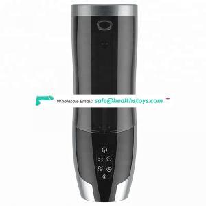Full Automatic Telescopic Male Masturbatory Smart Heating Sucking Machine Piston Vagina Pocket Pussy Masturbation For Man Sex