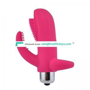 G-spot Stimulation Mini Finger Vibrator for Women Masturbation