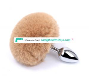 High Quality Stainless Feather Tail Butt Plug Paypal