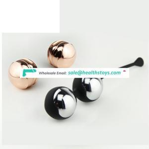 High quality Silicone and Metal Ben Wa Balls Waterproof Kegel Balls