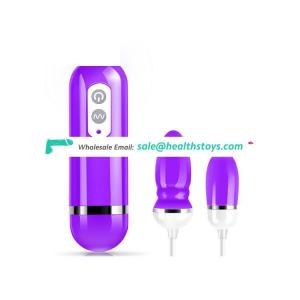 Hot Sale Waterproof 12 Frequency Vagina Anal Vibrator for Women