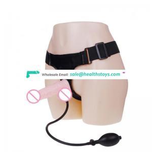 Latest Style Inflatable Strap on Dildo for Female Masturbation