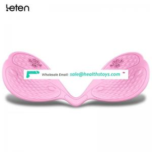 Leten Silicone USB Rechargeable Intelligent App Control Breast Massager Nipple Vibrator Sex Products Adult Sex Toys for Women