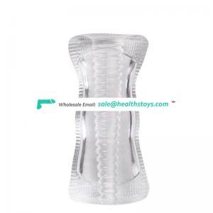 Male Masturbator Cup Delay Ejaculation Sex Toy For Men Soft Silicone Penis Trainer 3D Vagina Pussy Masturbator For Man