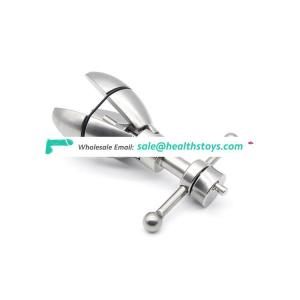 Male Stainless Steel Chastity Device Anal Expansion Plug