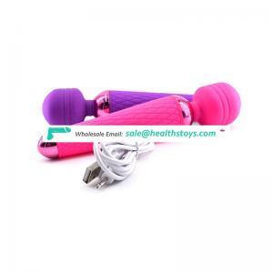 Massage sex 10 modes vibration 24 cm length silicone japen av wand massager vibrator
