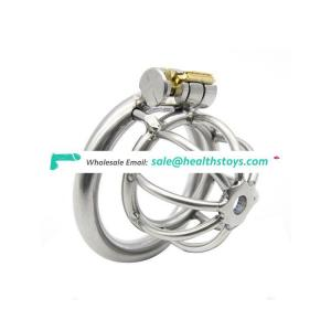 Metal Chastity Device Cock Cage Male Sex Toys