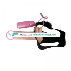Most Popular Soft Strap-on Penis Dildo Vibrator