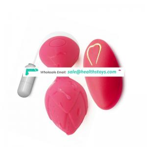 NEW Egg Vibrator G Spot Massager Wireless & Rechargeable Jumping Remote Control
