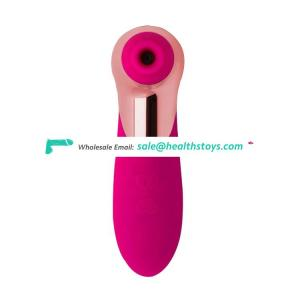 Pink Colorful Pussy Wireless Remote Control Vibrator sex toy sucking breast pump For Women