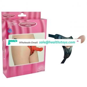 Popularity New Product High Silicone Strap On Dildo With Belt Sex Toys For Women
