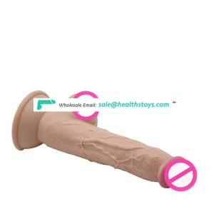 Realistic  Big Dildo  Female Personal Relax Massage with Suction Cup