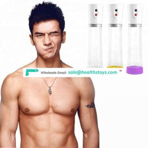 Rechargeable Automatic Silicone Sleeve Free Electric Penis Pump