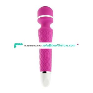Rechargeable mini handheld personal body sex toy pussy clitoris av magic wand massager vibrator for women