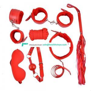 Safiman 2019 Most Popular 10pcs Set BDSM Sex Toys for Women bondage slave restraint