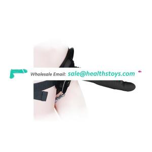 Sex Toys 8 Inch Silicone Strap On Penis Vibrator