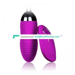 Shenzhen factory produced 12speed high quality silent waterproof wireless remote vibrator for women