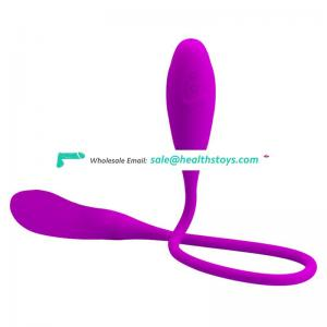 Silent 7speed waterproof rechargeable masturbator for couple pink rose purple color