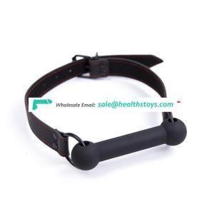Silicone Bone Shape Bondage Gag with Adjustable Belt