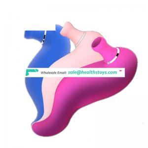 Silicone charger clitoris stimulation sucking massage vibrator