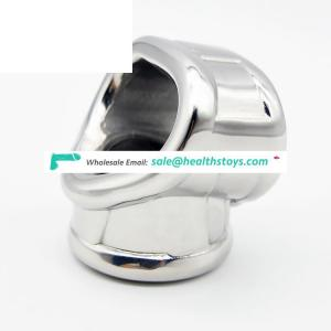 Stainless Steel 2 in 1 Cock & Ball sling Male Chastity Device