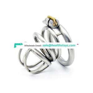Stainless Steel Male Chastity Device Penis Cage