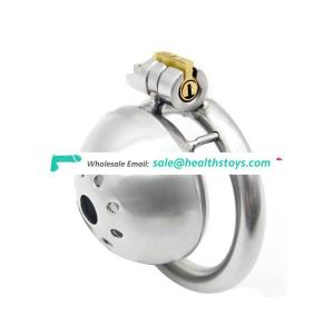 Stainless Steel Small Male Chastity Device Penis Cage