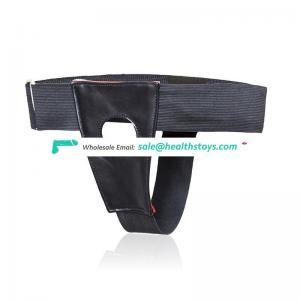 Strap On Dong Lesbian Dildo Hollow Out Pants Underwear Bondage Harness Belt for Women