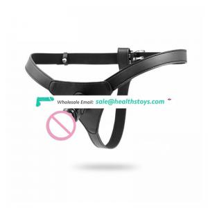 Strap On Penis Dildo with Male Chastity Belt Underwear for Women Lesibian
