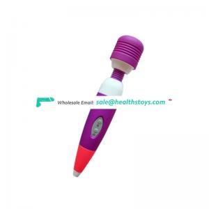 Strong Vibrating Multi Speed G-Spot Massager Bullet Vibe Femal Masturbate Magic Wand Vibrators For Woman Adult Sex Products