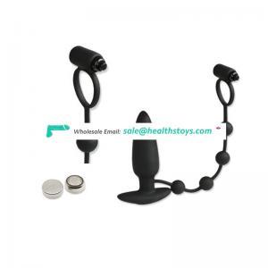 Strong Vibration Black Portable Electric Penis Prostate Massager