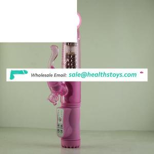 TPE battery or Rechargeable inside up and down sex vibrator