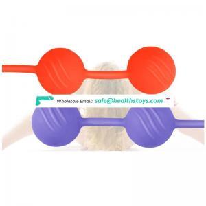 Three Colors Smart Ball Vaginal Training Masturbation Ball for Adult Toys