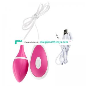 USB Rechargeable Sex Toy For Women Vibrating Jump Egg Vibrators Clitoral G Stimulator Adult Game Toys