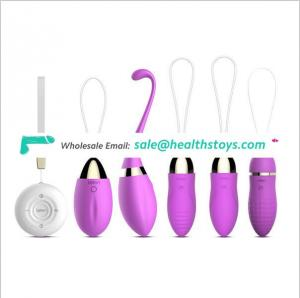 USB Wireless Vibrating Egg Vibrator Silent Waterproof Surge Massager Sex Toys For Women Vaginal Anal Sex Products Masturbator