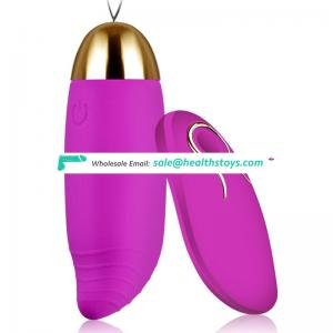 USB rechargeable egg shaped vibrator women vagina vibrator made in Shenzhen factory
